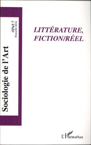 Couverture Littérature, Fiction/Réel
