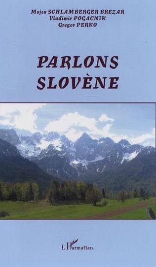 Couverture Parlons slovène