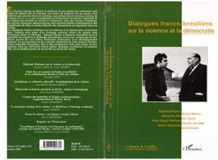 Couverture Dialogues franco-brésiliens sur la violence et la démocratie
