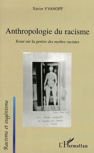 Couverture Anthropologie du racisme