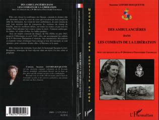 Couverture Des ambulancières dans les combats de la Libération