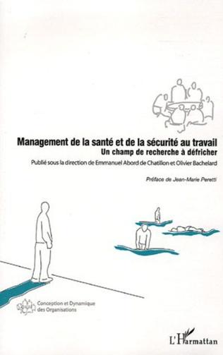 Couverture Management de la santé et de la sécurité au travail