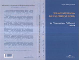 Couverture Méthode d'évaluation du développement humain