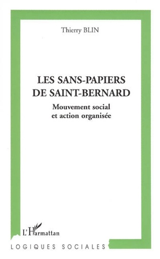 Couverture Les sans-papiers de Saint-Bernard