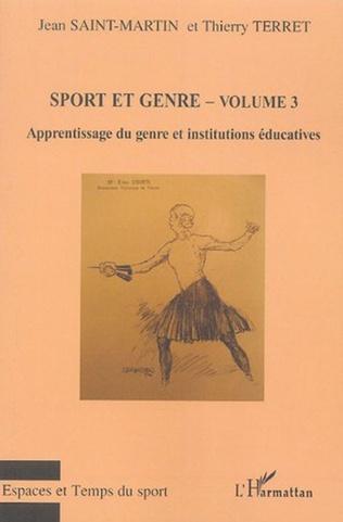 Couverture Sport et genre (volume 3)