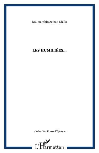 Couverture Les humiliées...