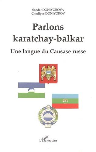 Couverture Parlons karatchay-balkar