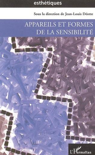 Couverture Appareils et formes de la sensibilité