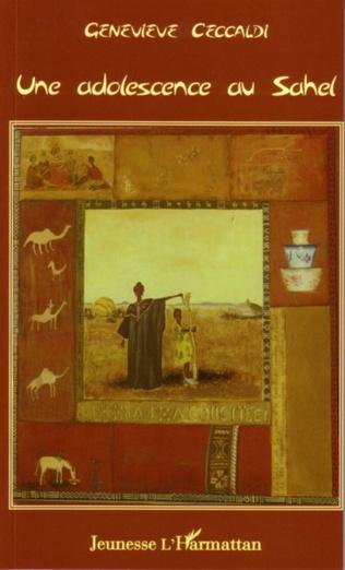 Couverture Une adolescence au Sahel
