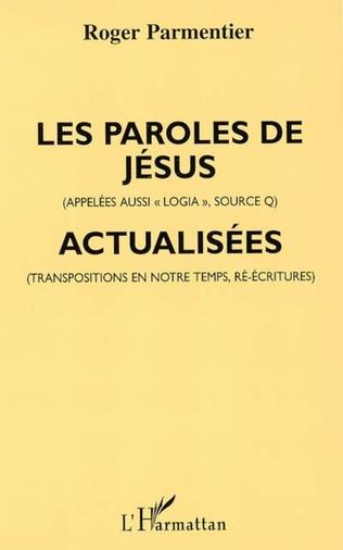 Couverture Les paroles de Jésus