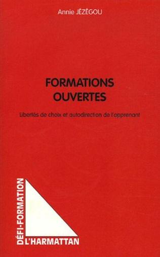 Couverture Formations ouvertes