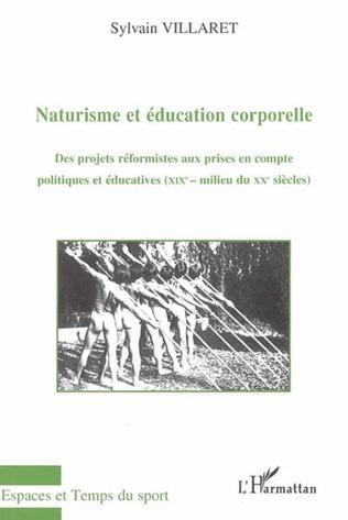 Couverture Naturisme et éducation corporelle