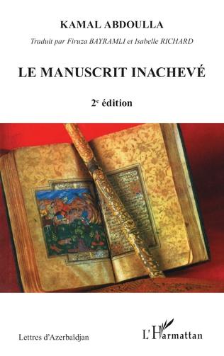 Couverture Le manuscrit inachevé