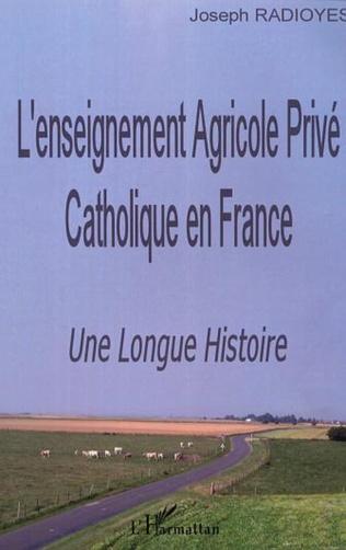 Couverture L'enseignement Agricole Privé Catholique en France