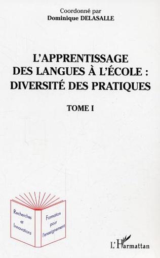 Couverture LES LANGUES EN CYCLE 1 ET 2 : PRATIQUE DE CLASSE AUTOUR DE L'EDUCATION A UX LANGUES-CULTURES A LEURS DIVERSITES