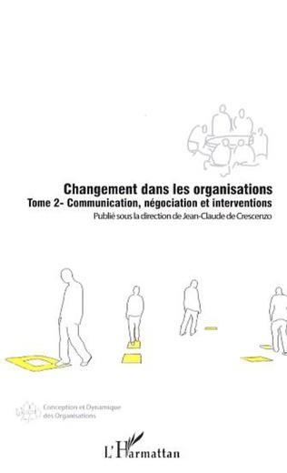 Couverture Changement dans les organisations (Tome 2)