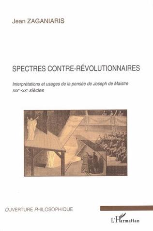 Couverture Spectres contre-révolutionnaires