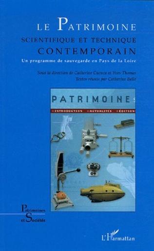 Couverture Le Patrimoine scientifique et technique contemporain