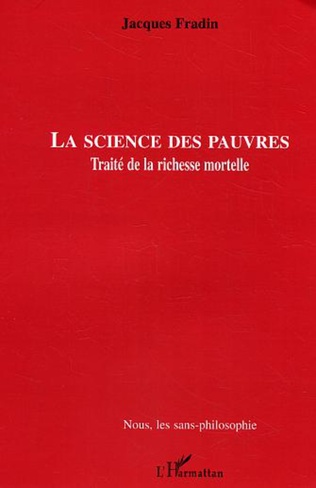 Couverture La Science des pauvres