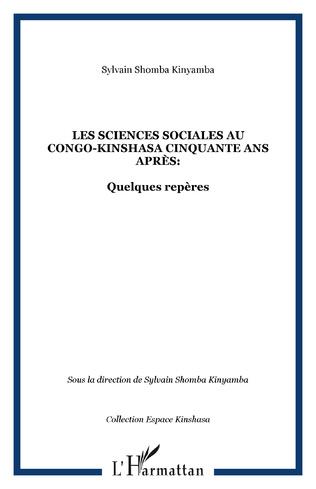 Couverture Les sciences sociales au Congo-Kinshasa cinquante ans après:
