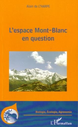 Couverture L'espace Mont-Blanc en question