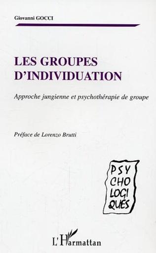 Couverture Les groupes d'individuation