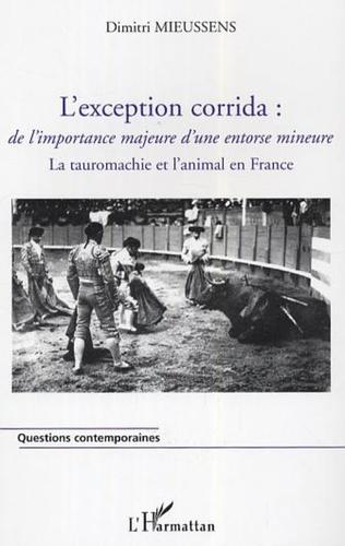 Couverture L'exception corrida