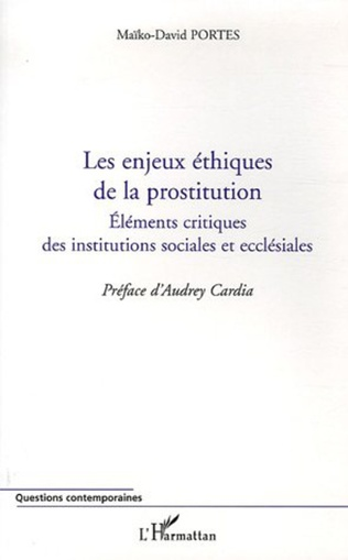 Couverture Les enjeux éthiques de la prostitution