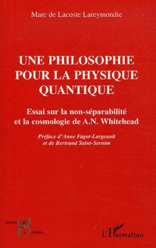 Couverture Une philosophie pour la physique quantique