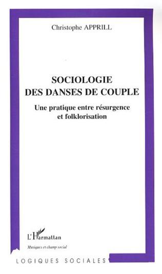Couverture Sociologie des danses de couple
