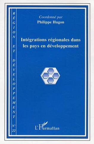 Couverture Intégrations régionales dans les pays en développement