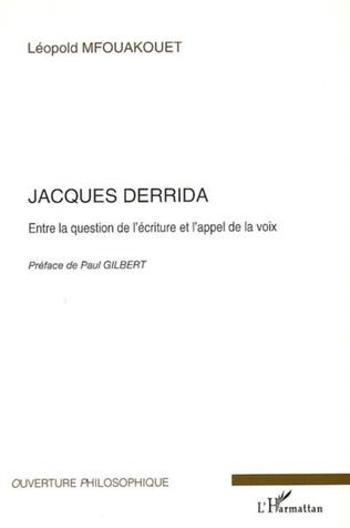 Couverture Jacques Derrida