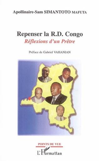 Couverture Repenser la R.D. Congo