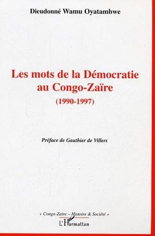 Couverture Les mots de la Démocratie au Congo-Zaïre