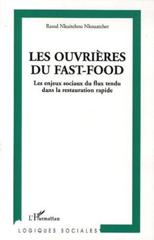 Couverture Les ouvrières du fast-food