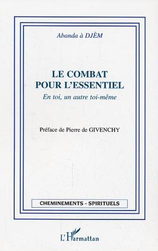 Couverture LE COMBAT POUR L'ESSENTIEL