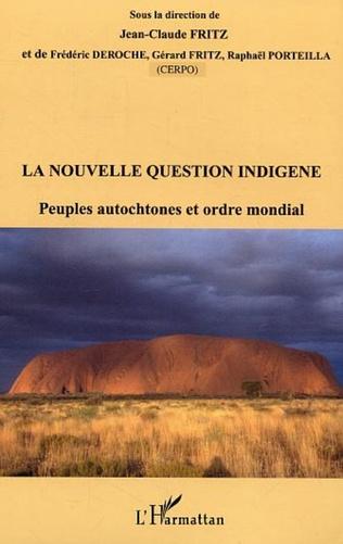 Couverture La nouvelle question indigène