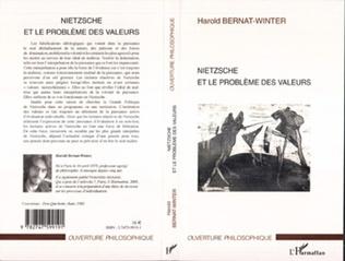 Couverture Nietzsche et le problème des valeurs