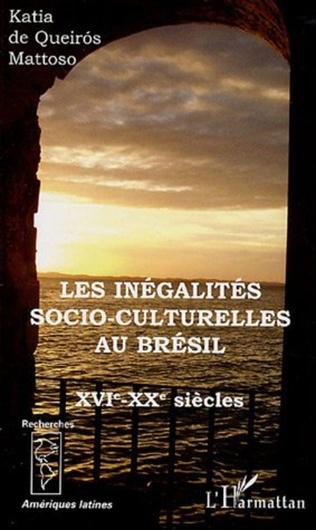 Couverture Les inégalités socio-culturelles au Brésil