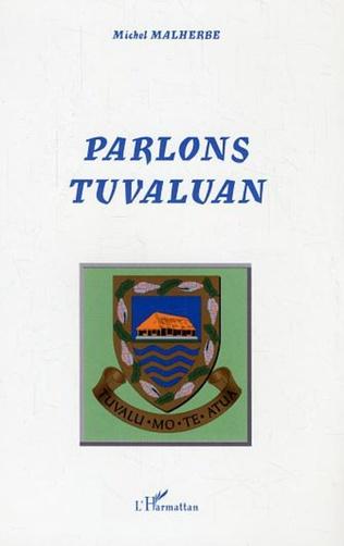 Couverture Parlons Tuvaluan