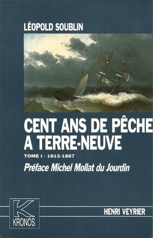 Couverture Cent ans de pêche à Terre-Neuve (trois volumes)