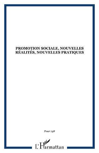 Couverture Promotion sociale, nouvelles réalités, nouvelles pratiques