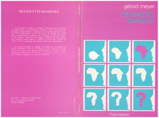 Couverture Devinettes Bambara