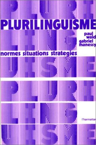 Couverture Plurilinguisme : normes, situations et stratégies