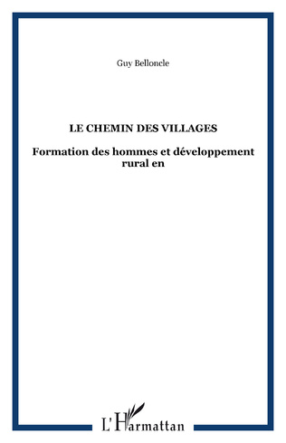 Couverture Le chemin des villages