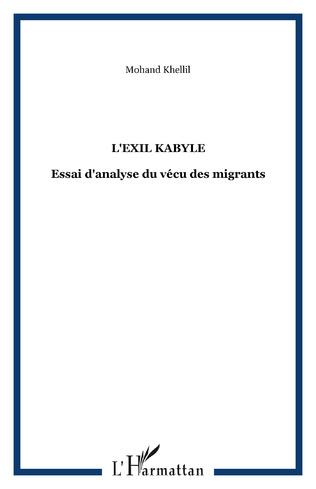 Couverture L'exil kabyle