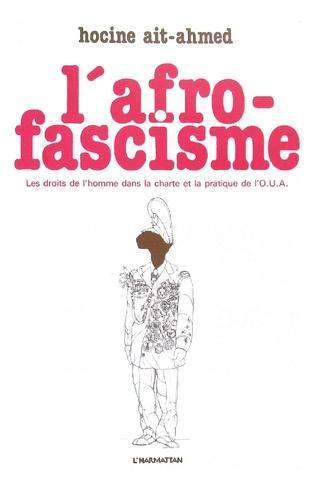 Couverture L'Afro-fascisme