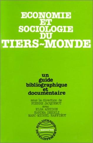 Couverture Economie et sociologie du Tiers Monde