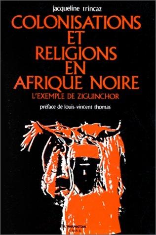 Couverture Colonisations et religions en Afrique noire
