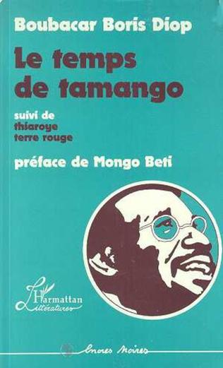 Couverture Le temps de Tamango